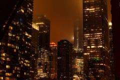 A Foggy Night - Chicago, IL.