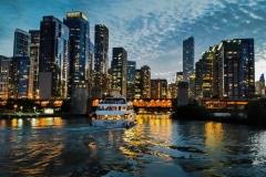 Chicago River Entrance- Chicago, IL.