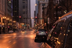Chicago at Dusk - Chicago, IL.