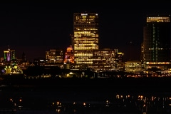 Night Time in Bayview - Milwaukee, WI.