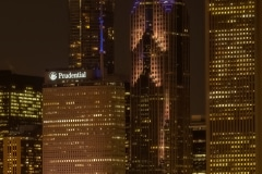 Prudential at Night - Chicago, IL.