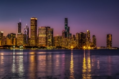 The Glow of Chicago - Chicago IL.