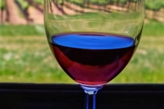 A Glass of Red - Napa , CA..