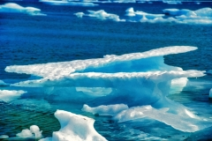 Abstract Ice - High Artic