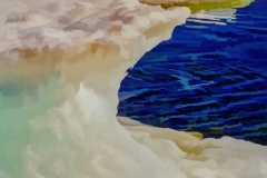 Icebergs in the Arctic