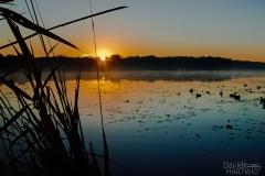 Sunrise on Deep-Lake - Lake Villa IL.