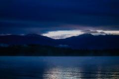 Early Morning Sun - Priest Lake, ID.