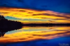 Sundown on Cedar - Lake Villa IL.