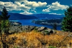 The Pend Oreille River - Horn Mountain ID.