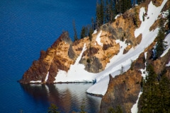 Winters End - Crater Lake OR.