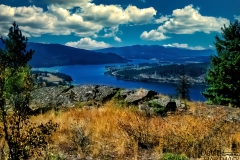 The Pend Oreille River - Horn Mountain, Priest River, ID.