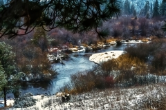 Winter in the Valley - Rocky Mountain N.P. CO.