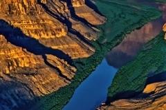 A Deep Gouge - Havasupai Reservation AZ.