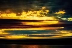 Midnight in the Arctic - Nunavut, Canada.