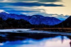 Mystical Evening-  St. Regis MT.