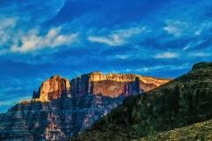 Twilight on a Plateau  - Grand Canyon , AZ.