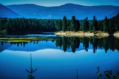 Reflections on a Lake-  Clark Fork, ID.
