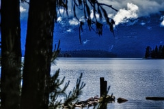 Summer Morning  in Idaho - Priest Lake, ID.