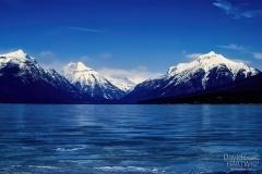 Winter Peaks - West Glacier, Montana.