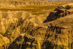 A Bad Desolate Valley - Badlands N.P. SD.
