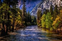 Colors of a River - Yosemite N.P. CA.