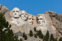 Forefathers - Mt. Rushmore N.P. SD.