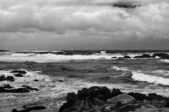 Desolate Morning - Sunset Point, Monterey Peninsula, CA.
