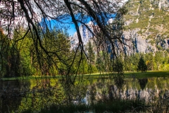Reflections of a Valley at Yosemite - Yosemite CA.
