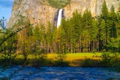 Valley Twilight Yosemite CA.