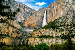 Yosemite Falls - Yosemite CA.