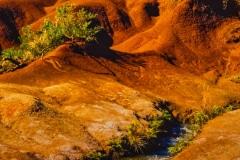 Red Rock Flow in Kauai HI.